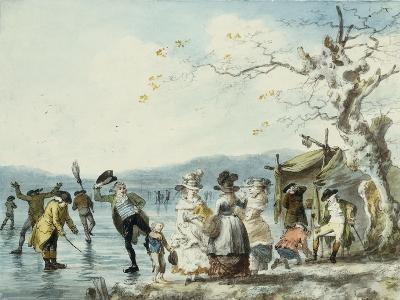 Skaters on the Serpentine, Hyde Park, London, 1786