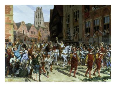 Triumphal Arrival of the Prince d'Orange in Nassau, 1884