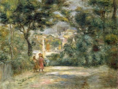 Vue du Sacre Coeur, 1905
