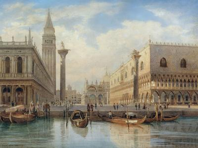 La Piazza San Marco, Venice, 1864