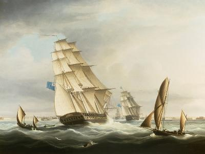Squadron of the Blue off Portsmouth