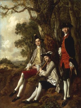 Portrait of Peter Darnal Muilman, Charles Crockatt and William Keeble