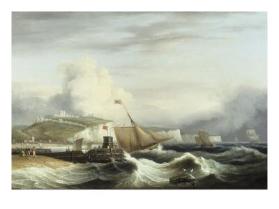 A Cutter and other Shipping off Dover, 1817