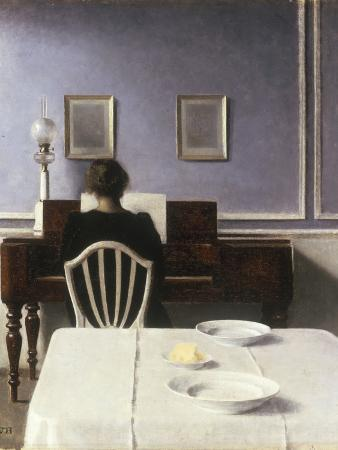 Interior with a Girl at the Clavier, 1901