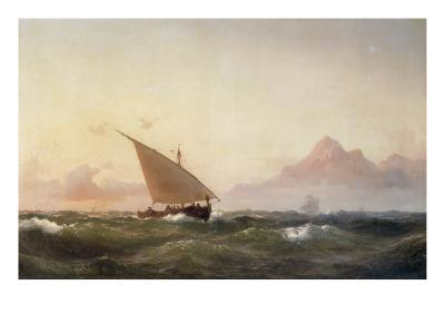Off the Coast of North Africa, 1853