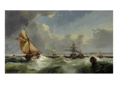 A Breezy Evening on the Mersey