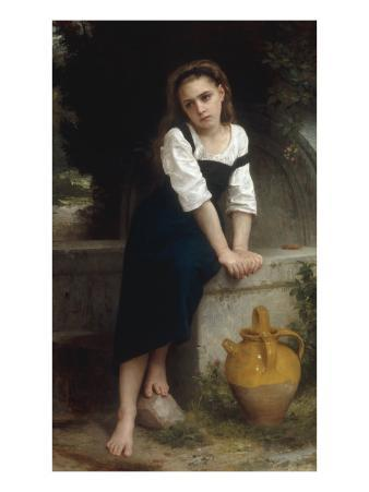 Orphan by a Spring (Orpheline a la Fontaine), 1883
