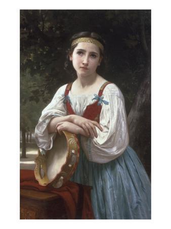 Bohemienne au Tambour de Basque, 1867
