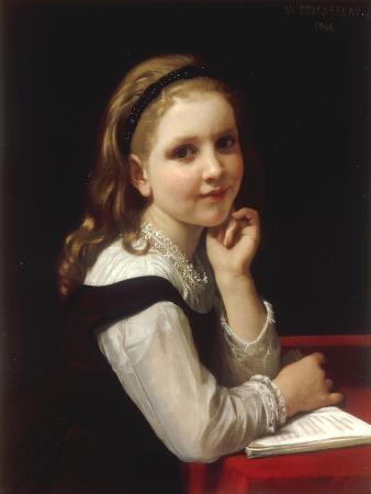 Jeune Ecoliere, 1868
