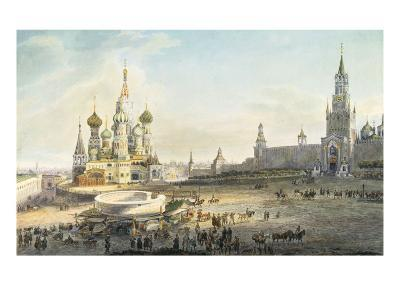 The Red Square, Moscow