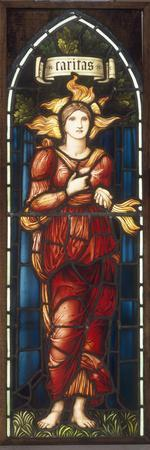Caritas - A Stained Glass Window