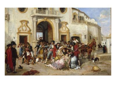 The Death of Carmen, 1890
