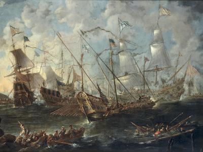 A Mediterranean Naval Battle