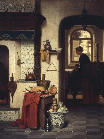 In the Kitchen, 1872