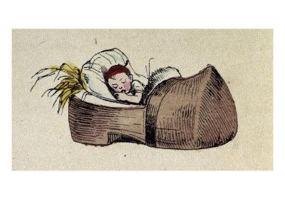 Tom Thumb- Illustration to 'Le petit Poucet'