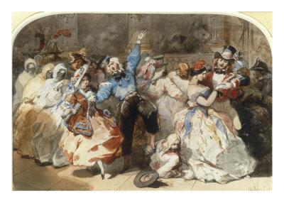 Le Chahut au Bal de l'Opera, 1851