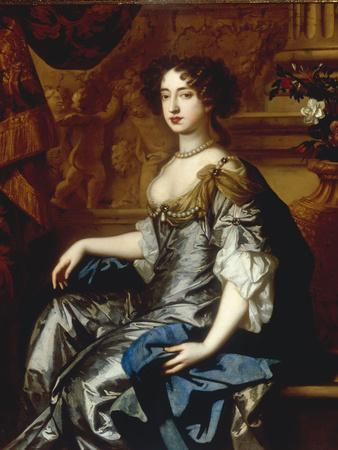Portrait of Mary II (1662-94), when Princess of Orange