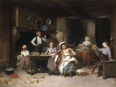 Entertainment for the Baby, 1876