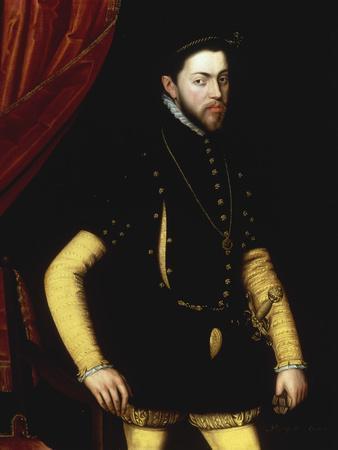 Portrait of King Philip II of Spain