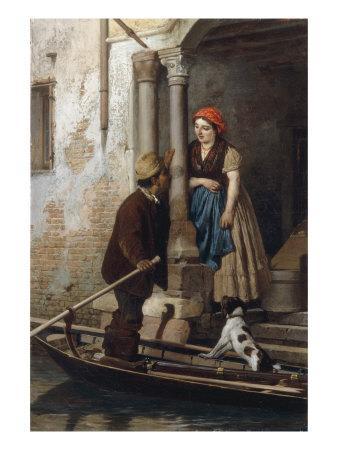 Courtship in Venice