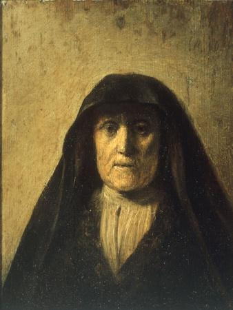 Portrait Head of an Old Woman, called 'Rembrandt's Mother', 1627