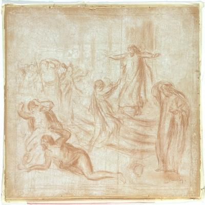 Sketch for King Oedipus, c.1895