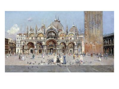 On the Piazza San Marco, Venice