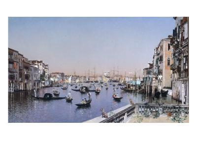 An Extensive View of the Grand Canal, Venice