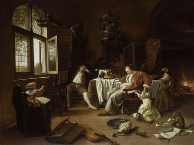 The Dissolute Household or the Effects of Intemperance