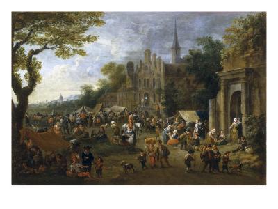 A Village Market Scene