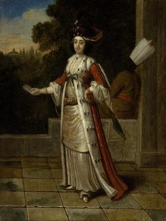 A Sultan with a Black Eunuch