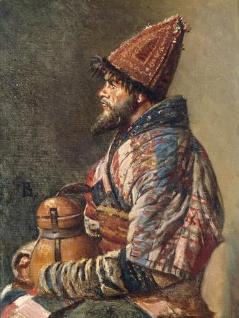 Portrait of a Kirgiz Man