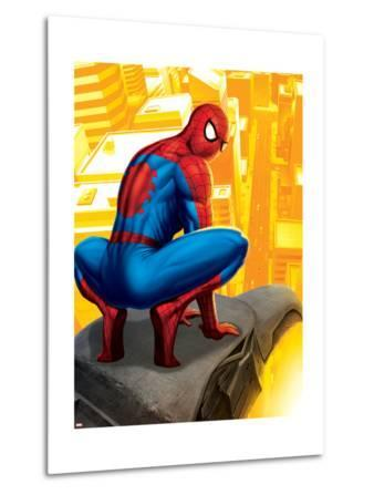Spider-Man In the City, Crawling on Gargoyle