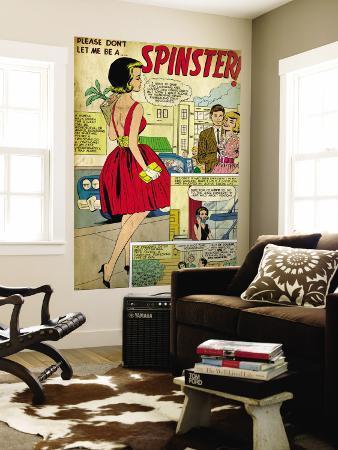 Marvel Comics Retro: Love Comic Panel, Spinster (aged)