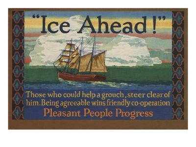 Ice Ahead! Those Who Could Help A Grouch Steer Clear of Him