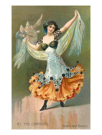 At the Carnival, Grace and Beauty, Spanish Dancer