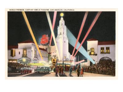 Night, Movie Premiere, Los Angeles, California
