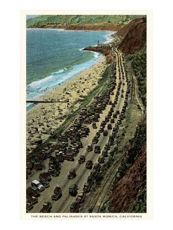 Beach and Palisades, Santa Monica, California