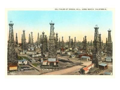 Oil Fields, Long Beach, California