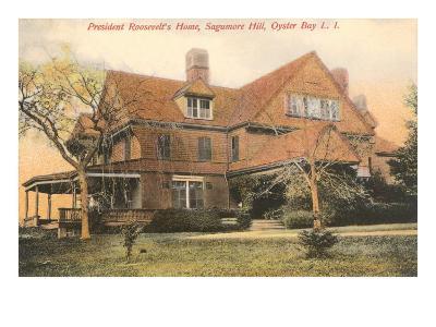 Roosevelt Home, Oyster Bay, Long Island, New York