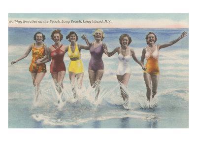Bathing Beauties, Long Island, New York