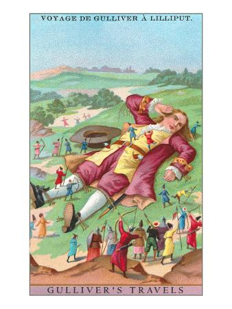 Scene from Gulliver's Travels