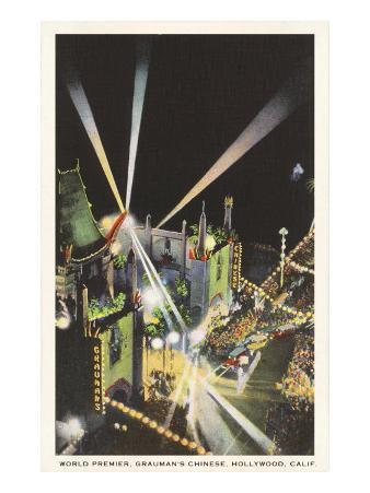 Night, Movie Premiere, Grauman's, Hollywood, California