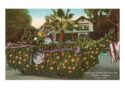 Vintage Rose Parade, Pasadena, California