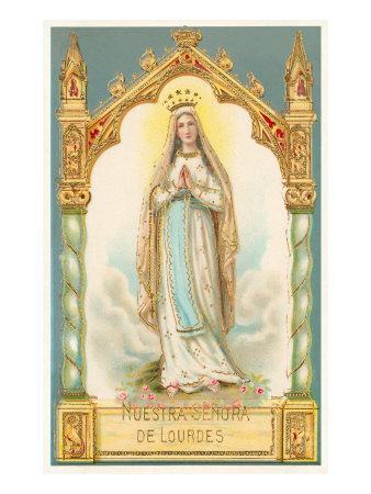 Our Lady of Lourdes, Nuestra Senora de Lourdes