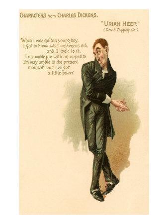 Uriah Heep from David Copperfield