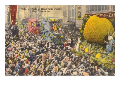 Floats, Mardi Gras Parade, New Orleans, Louisiana