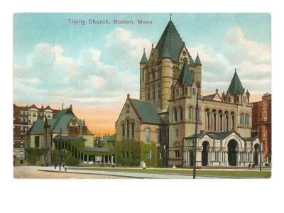 Trinity Church, Boston, Mass.