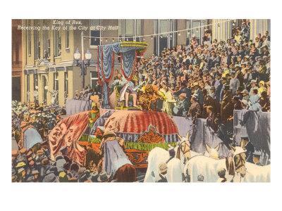 King Rex, Mardi Gras, New Orleans, Louisiana