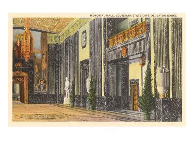 Interior, State Capitol, Baton Rouge, Louisiana